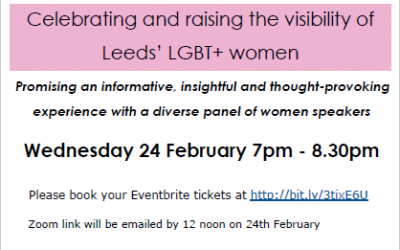 Women Friendly Leeds LGBTQ+ Panel Discussion Event